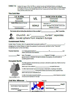 standard 7 wwii and the cold war era us history eoc review rh tomrichey net cold war review guide cold war review guide
