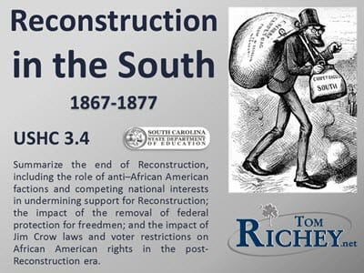 Reconstruction Part II - USHC 3.4 EOC Review