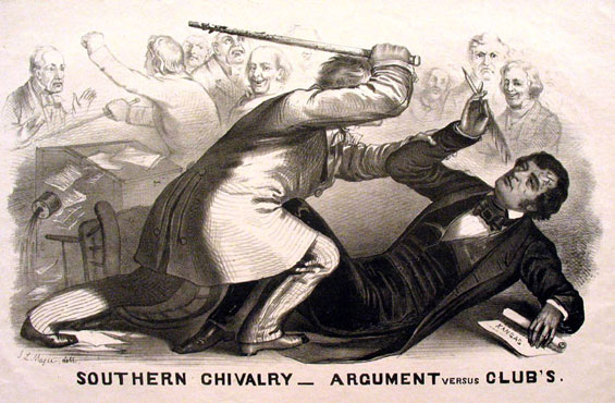 Preston Brooks Caning of Charles Sumner